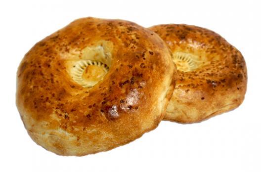 Узбекские лепешки с кунжутом